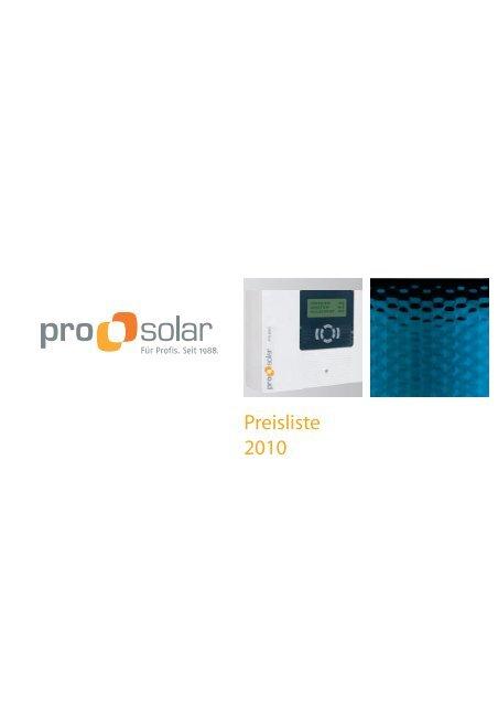 9 m/² Solarthermie Paket ohne Speicher