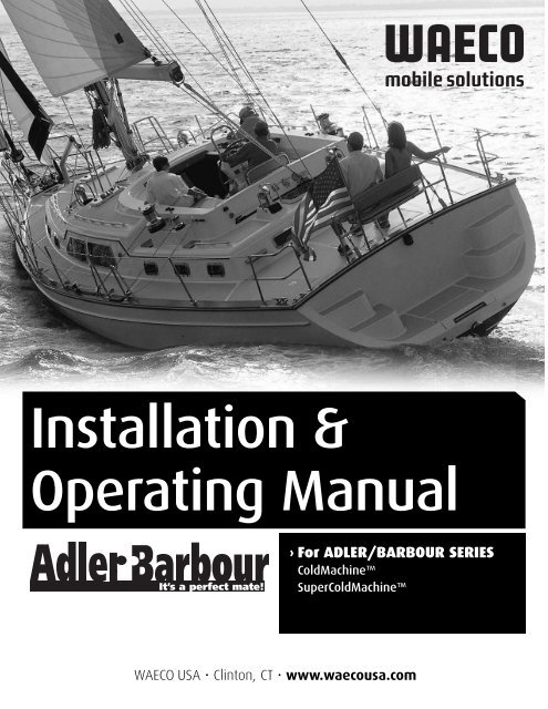Adler Barbour installation instructions - Raycotechnologies org