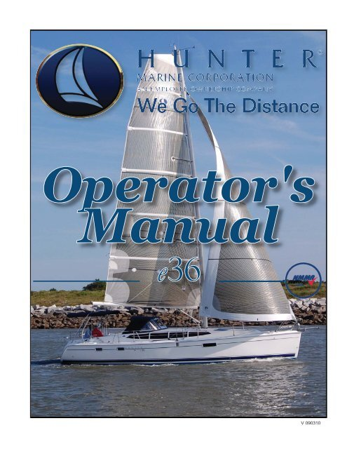 36e Operator's Manual 2011.pdf - Marlow-Hunter, LLC