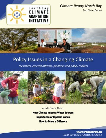 Policy Issues in a Changing Climate - Laguna de Santa Rosa ...