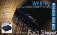 web:tv home entertainment device - Amazon Web Services