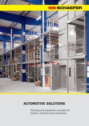 AUTOMOTIVE SOLUTIONS - SSI Schäfer