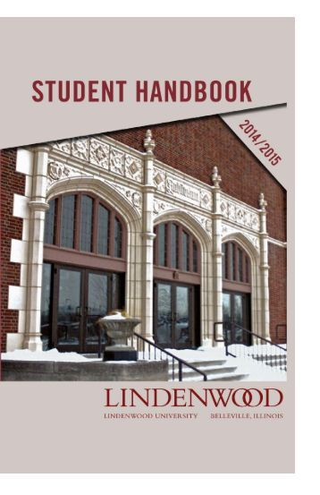 STUDENT HANDBOOK - Lindenwood University - Belleville