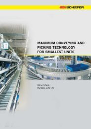 maximum conveying and picking technology for ... - SSI Schäfer