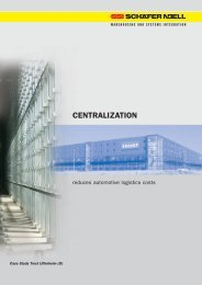 CENTRALIZATION - SSI Schäfer