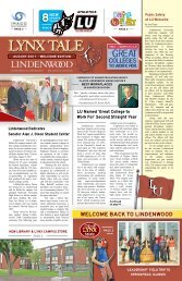 Volume 3, Issue 1 - August 2011 - Lindenwood University - Belleville