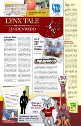 LYNX TALE - Lindenwood University - Belleville