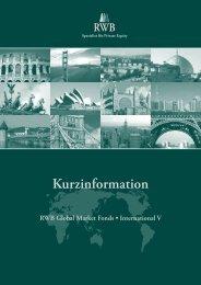 Kurzinformation - RWB