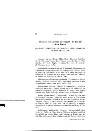 Quelques Coleopteres interessants du Sud-Est de la France - site ...