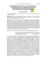 Scope: Munis Entomology & Zoology publishes a wide variety of ...