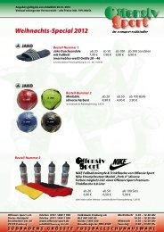 Weihnachts-Special 2012 - Offensiv Sport