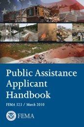 Public Assistance Applicant Handbook - Kentucky Emergency ...