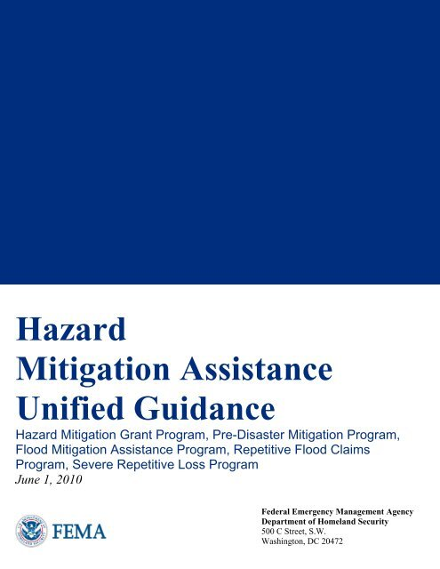 HMA) Unified Guidance - State of Oklahoma Web Site