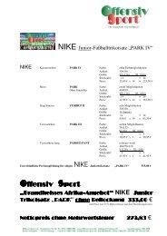 Afrika Trikotangebot 2010 40 Rabatt NIKE PARK 4 ... - Offensiv Sport