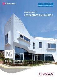 HI-MACS Brochure façade