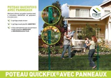 POTEAU QUICKFIX®AVEC PANNEAUX - Produits