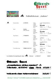 Afrika Trikotangebot 2010 40 Rabatt ADIDAS ... - Offensiv Sport