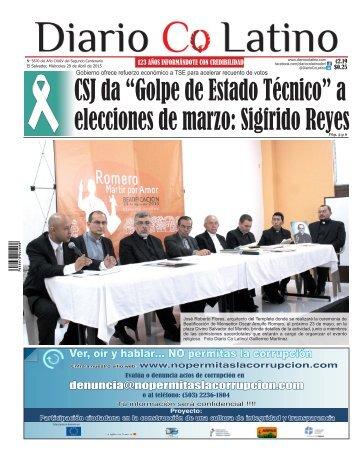 Edición 29 de Abril de 2015