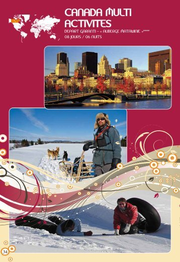 Séjour Canada hiver multi-activités - OVH.net