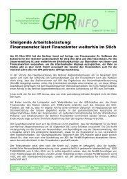 Finanzsenator lässt Finanzämter weiterhin im Stich - Vau-online.de