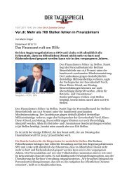 Tagesspiegel - Vau-online.de