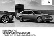 DER BMW 7er. ORIGINAL BMW ZUBEHÖR.