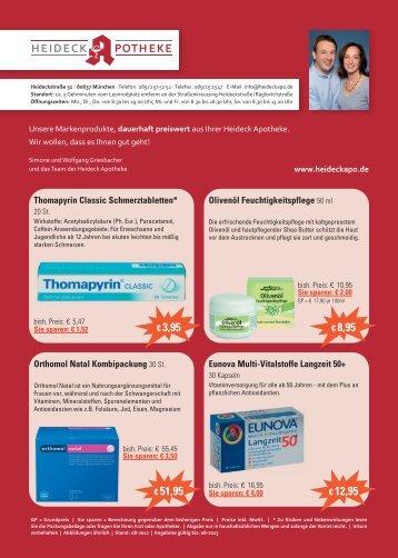 Arzneimittel dauerhaft preiswert - Offizin 24