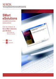 SMart eSolutions - a Xerox remote service platform