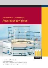 Ausstellungsvitrinen - innverlag
