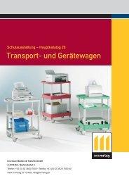 Transport- und Gerätewagen - innverlag
