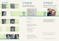 14. – 17. März 2013 14. – 17. März 2013 - Verlag Freies Geistesleben
