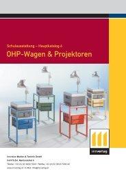 OHP-Wagen & Projektoren - innverlag