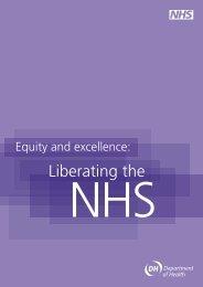 Liberating the - NHS History
