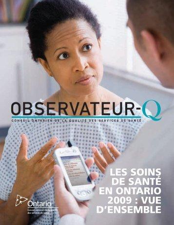 Observateur de la Qualite 2009—Rapport Complet (PDF, 3.6MB)