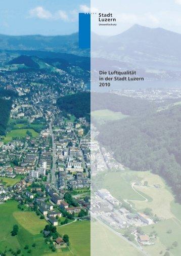 Die Luftqualität in der Stadt Luzern 2010 - Luft-in.ch