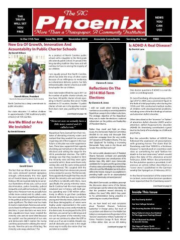 The AC Phoenix: More than a Newspaper, a Community Institution -- Issue No. 2017, November 2014