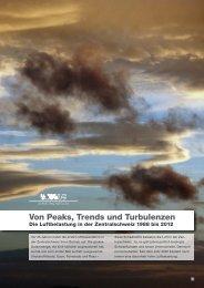 Von Peaks, Trends und Turbulenzen - in-Luft