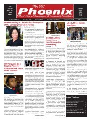 The AC Phoenix: More than a Newspaper, a Community Institution -- Issue No. 2016, October 2014