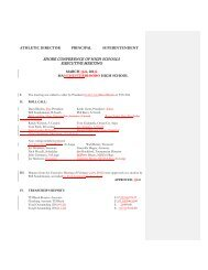 Executive Committee Meeting Minutes March 2013 - Shore ...