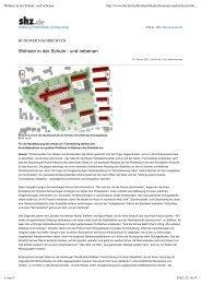 Wohnen in der Schule - und nebenan - Meyer Steffens Architekten ...