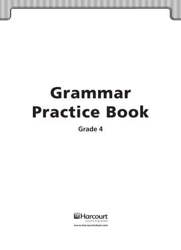 Grammar Practice Book - East Penn School District