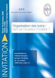 Organisation des soins - REES France
