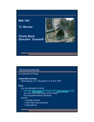 MIN 185: 13. Review Charly Bank Giovanni ... - Civil Engineering