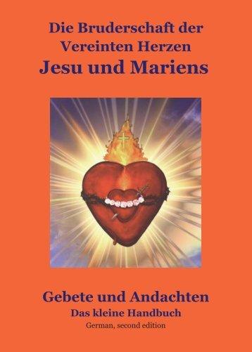 3 Supplement Handbuch Bruderschaft.pdf - beim Werk der heiligen ...