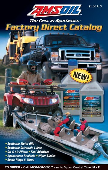 Downloadable AMSOIL Product Catalog (PDF 2.6MB)