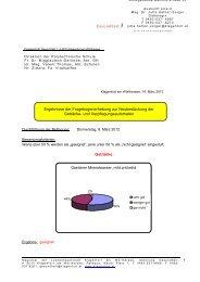 Ergebnisse der Befragung - Polytechnische Schule Klagenfurt