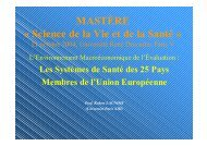PDF, 1 Mo - Réseau d'évaluation en économie de la santé