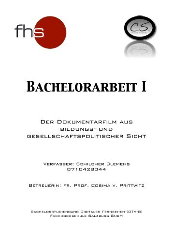 Bachelorarbeit I - Desire Design Medienagentur