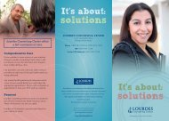 solutions solutions - Lourdes Health Network