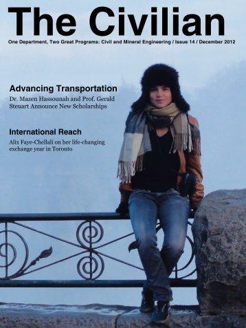Civilian - Issue 14 - December 2012 - Civil Engineering - University ...